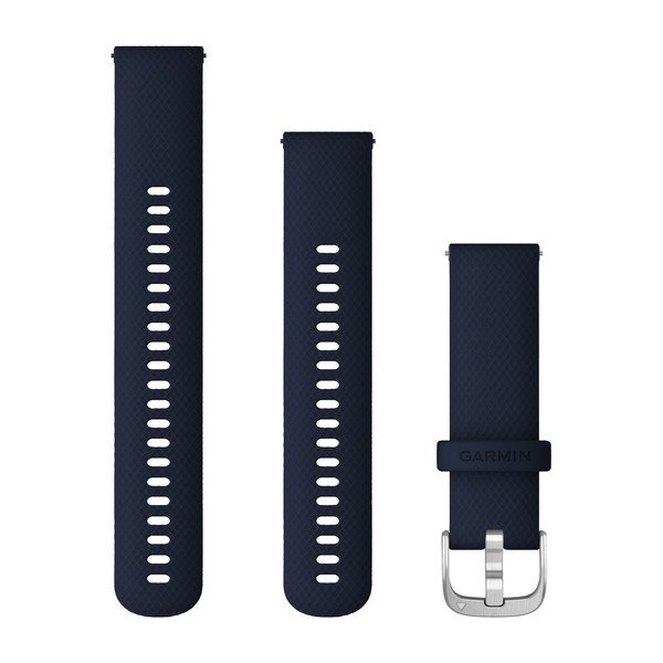 Vivoactive 4 correa Dark Blue/Silver (22mm)
