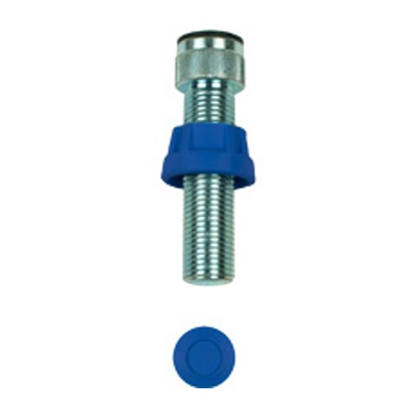 Frame fixation bolt, dark blue