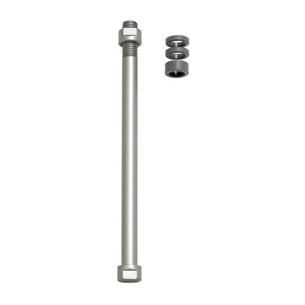 TACX E-Thru axle skewer 12 mm x 1.75 rear wheel