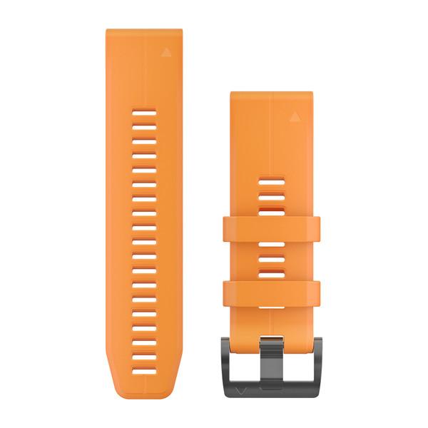 fenix 5X Plus 26mm QuickFit Spark Orange Silicone