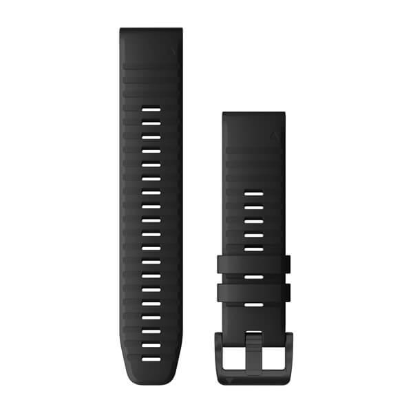 Fenix 5/6 correa QuickFit Silicona Negra (22mm)