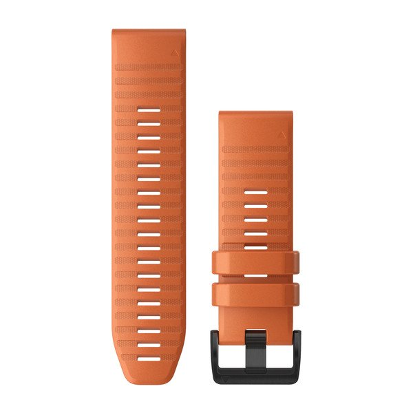 Fenix 6x/5x correa QuickFit Silicona Ember Orange  (26mm)