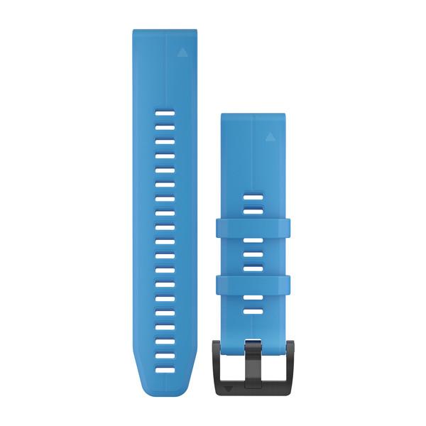 fenix 5 Plus 22mm QuickFit Cyan Blue Silicone